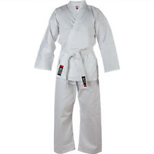 Blitz Adult Polycotton Student 8oz Karate/Aikido Suit with FREE WHITE BELT