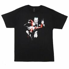 Mens DC Comics Originals Super Hero BATMAN Harley Quinn Joker T-Shirt Any Size