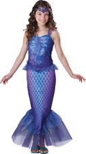 Child Girls Mysterious Mermaid Cosplay Halloween Costume Fancy Dress