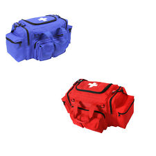 EMT EMS Paramedic Medic Medical Rescue RED BLUE Trauma Backpack Shoulder Bag Kit