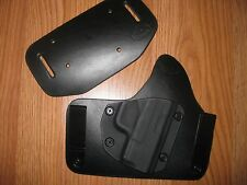 Smith&Wesson IWB/OWB combo Kydex/Leather Hybrid Holster adjustable retention