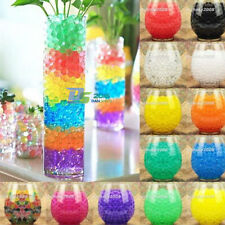 Water Crystal Soil Jelly Mud Plant Gel Pearls Balls Bead Wedding Vase Decoration