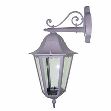 LED VICTORIAN OUTDOOR GARDEN SECURITY WALL LANTERN PORCH LIGHT OUTSIDE LAMP UK