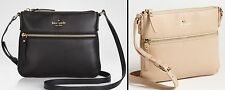 NWT KATE SPADE COBBLE HILL TENLEY CROSSBODY MESSENGER BAG BLACK