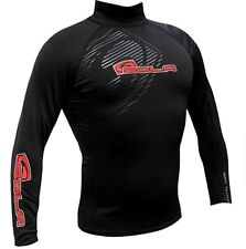 SOLA MENS THERMAL RASH VEST LONG SLEEVED UV 50 SUN PROTECTION TOP SURF JET SKI