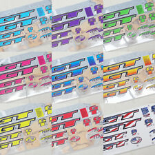 GT 1998 BMX Stickers / Decal Set - Old / Mid Skool / School - Loads Of Colours