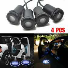 4X Car LED Step Logo Welcome Bulbs Laser Ghost Shadow Lamps Door Light Projector