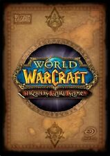 World of Warcraft Cards - Through the Dark Portal 137 - 206 - Pick card WOW CCG