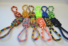 zipper pulls 550 paracord - patterns - handmade