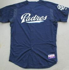 MAJESTIC AUTHENTIC COLLECTION TEAM SAN DIEGO PADRES BATTING PRACTICE JERSEY