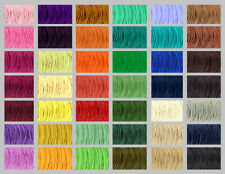 Wax Cotton Cord 1mm - 33 Colours -  Shamballa String Thread Jewellery Making
