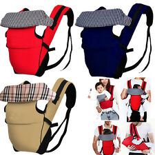Breathable Ergonomic Baby Carrier Newborn Pouch Front Back Infant Backpack 4Ways