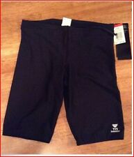 TYR Men's Solid Black Jammer