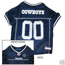 DALLAS COWBOYS NFL Officially Licensed DOG pet JERSEY football shirt clothes