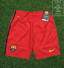Barcelona Away Shorts - Genuine Nike Barca Boys Shorts