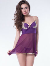 Ladies Sexy Babydoll Lingerie Underwear Dress Nightwear Plus Size 10 12 14 16 18