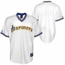 NWT Seattle Mariners Majestic Big & Tall Cooperstown Mens Replica Jersey