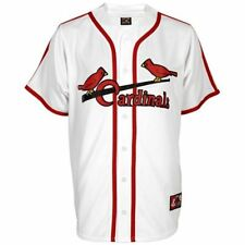 NWT St. Louis Cardinals Majestic Big & Tall Cooperstown Mens Replica Jersey