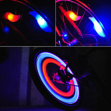 Funny Safe Bright Bike Bicycle Cycling Car Wheel Tire Tyre Led Spoke Light Lamp