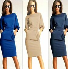 2015 Fashion Women Slim Bodycon Office lady Party Evening Cocktail Pencil Dress