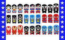 3D Comic Cartoon Super Hero Soft Silicone Cover Case For Samsung Galaxy S3 S4 S5