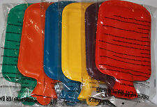 1PCS Rubber HOT WATER BOTTLE Bag WARM Relaxing Heat / Cold Therapy NEW