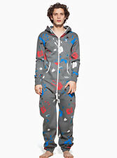 One Direction OnePiece Grey Adult Onesie - 100% Official Licenced