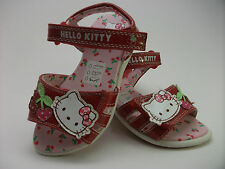 Hello Kitty Girls Sandal with Adjustable Velcro Straps In Sizes 6,7,8,9,10,11,12