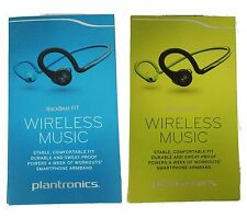 Plantronics BackBeat Fit Bluetooth Wireless Headphones Sweat-proof Blue Green