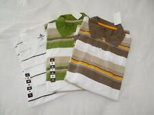 New Men's Foot Locker Striped Polo Shirts - Size M - NWT