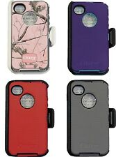 Otterbox Defender Case For iPhone 4s & iPhone 4 With Belt Clip
