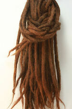 10 human hair dreadlock extension - 10 dreads per order - highest quality