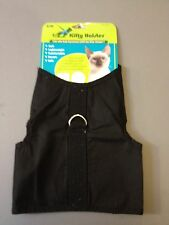 Kitty Holster Cat Harness - Great for Cats or Kitten  - Black 4 Sizes