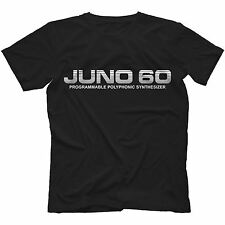 Juno-60 T-Shirt 100% Cotton | Retro Synthesiser Analog Polysix 106
