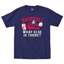 Baseball & Beer What Else Is There Sports Athlete Sport Home Mens T-Shirt