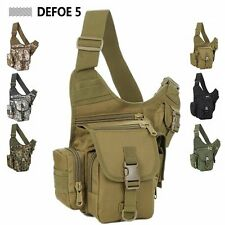 Tactical Gear Sports Army SLR Photography Camera Saddle Wolf Brown Shoulder Bag