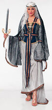 Adult Deluxe Lady Of The Lake Renaissance Medieval Halloween Costume Fancy Dress