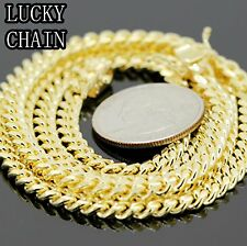 "24""26""28""30""925 STERLING SILVER MIAMI CUBAN LINK CHAIN 4MM28g30g32g34g PC40"