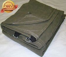 Super Grade A Waterproof Canvas Tarps for Sale 16 Ounce Canopy Cover Tarp