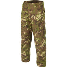 Teesar Tactical Mens BDU Uniform Trousers Army Patrol Cotton Pants Vegetato Camo