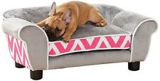 Luxury Snuggle Sofa Pet Bed Elevated furniture home decor plush chair cats dogs
