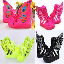 2015 New Lovely Girls Boys Kids Wing Butterfly Sneakers Sandals Mesh Shoes Boots