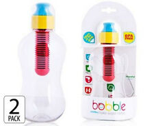 GENUINE BOBBLE® 2PACK FILTERED WATER BOTTLE 385ML FOR SCHOOLS SPORTS OUTDOORS