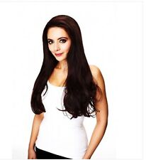 LONG  TONGABLE SYNTHETIC HALF WIG  IVY | GREAT VOLUME  HAIR COUTURE BY  SLEEK