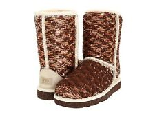 Nib UGG Australia Champagne Classic Sparkle Short Woman's Boots
