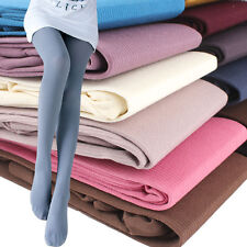 Multicolor Velvet Vertical Striped Womens Tights 120D Opaque Stockings Pantyhose