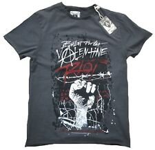 AMPLIFIED Vintage Official Bullet for My Valentine Riot Star Vip T Shirt Sz..s