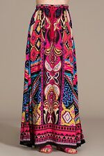 NEW FLYING TOMATO PINK FLORAL LONG MAXI BOHEMIAN SKIRT pick S M L