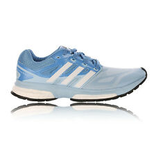 Adidas Response Boost Techfit Womens Blue Running Sneakers Training Shoes