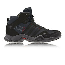 Adidas Mens Black AX2 Mid Gore-Tex Waterproof Outdoors Trail Walking Shoes
